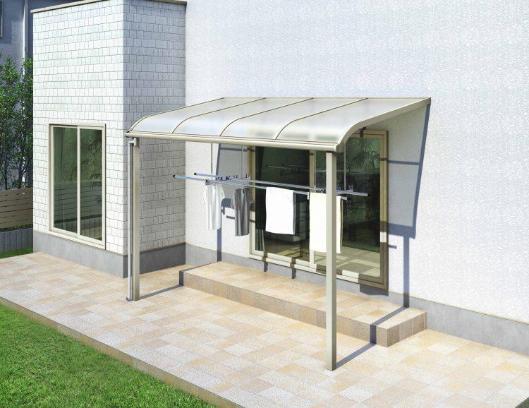 ソラリアテラス屋根アール型